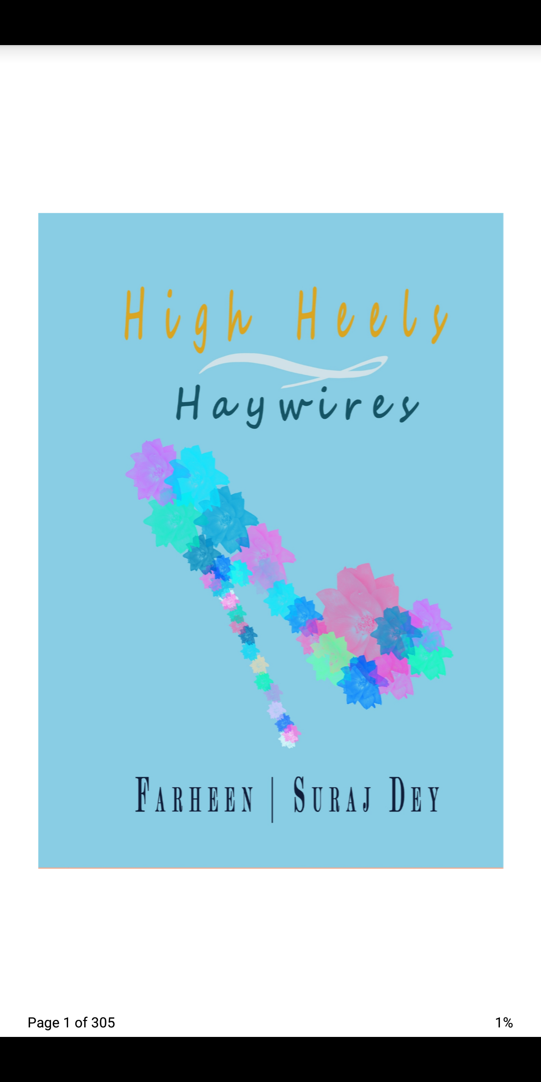 Cover of high heels and haywires